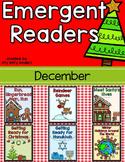 Emergent Readers Set for December: Christmas, Elves, Gingerbread