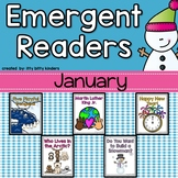 Emergent Readers Set for January, New Year's
