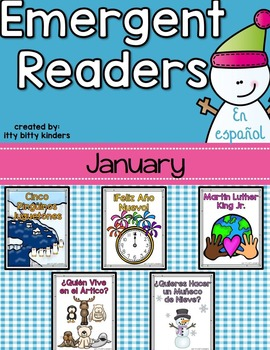 Emergent Readers Set for January in Spanish