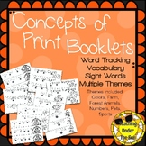 Emergent Readers, Sight Word Readers, Various Themes,