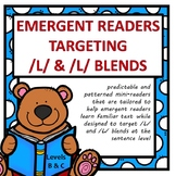 Emergent Readers Targeting /L/ and /L/ blends  (Levels B & C)