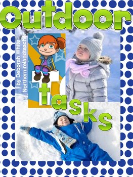 Emergent Readers - The Teeny Weeny Girl - The Snowman & OUTDOOR TASKS!