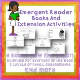 Emergent Readers Unit 6 weeks Activites Games Assessments SPED autism