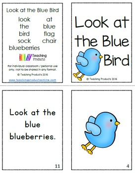 Emergent Readers to Reinforce Colors