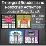 Emergent Readers and Response Activities Bundle (School, Fall, Winter, Spring)
