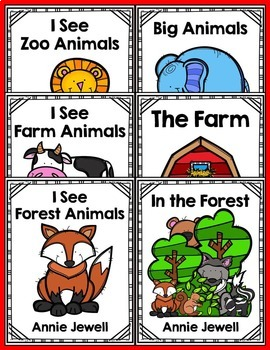 Emergent Readers for Beginning Readers BUNDLE - 7 Readers for a Great Price!
