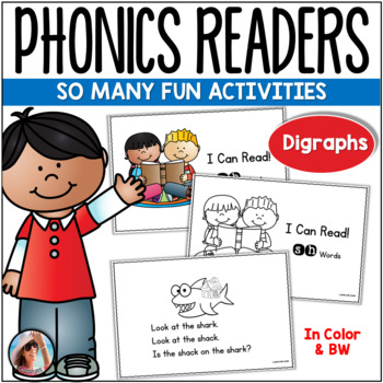 Phonics Emergent Readers for Consonant Digraphs