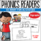 Phonics Readers for Consonant Digraphs