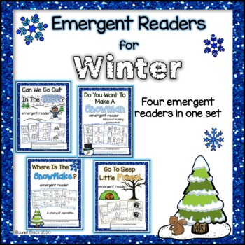 Emergent Readers for December/Winter