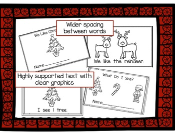 Emergent Readers for Guided Reading - Christmas Themed