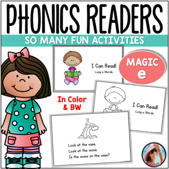 "Phonics Emergent Readers for Magic ""e"""