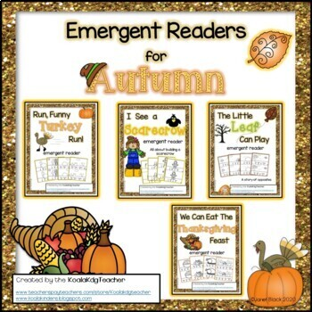 Emergent Readers for November