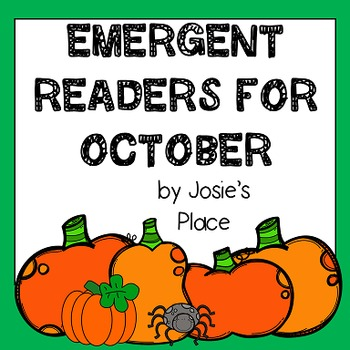 Emergent Readers for October