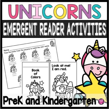 Unicorns Book of Colors Emergent Readers