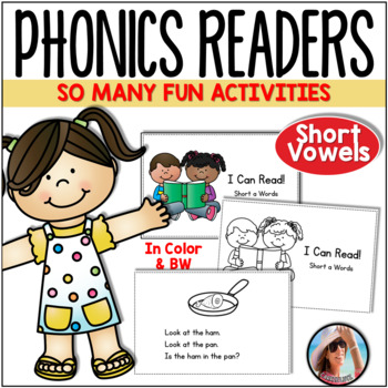 Phonics Readers Short Vowels