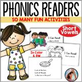 Phonics Readers Short Vowels