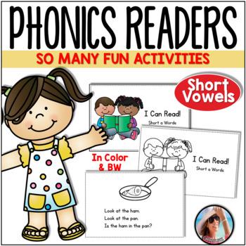 Phonics Emergent Readers for Short Vowel Practice
