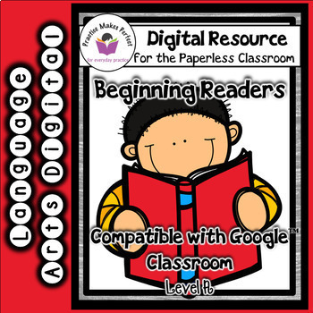 Emergent Readers for the Paperless Classroom - Level A