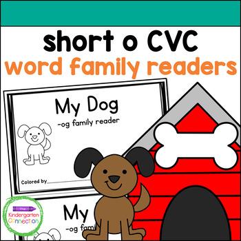 Emergent Readers - short o CVC word family books