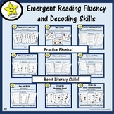 Emergent Reading Fluency and Decoding Skills Bundle
