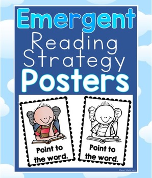 Emergent Reading Strategy Posters