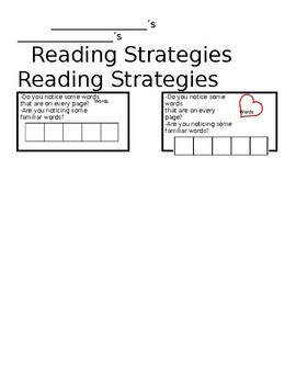 Emergent Readingers Bookmark