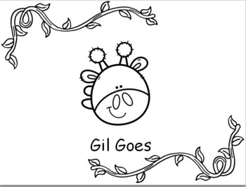 Gil Goes: Emergent Sight Word Reader 3 levels