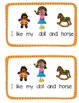 "Emergent Sight Word Reader "" I like my"""
