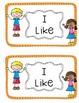 "Emergent Sight Word Reader "" I like my"""