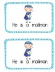 """Emergent Sight Word Reader """"She he is"""""""