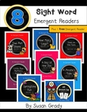Emergent Sight Word Readers Bundle {And, Do, Does, He, Play, Said, She, They}