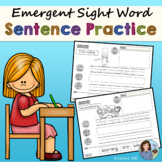 Sight Word Sentence Practice