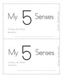 Emergent Student Book-My 5 Senses
