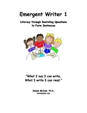 Emergent Writer Booklet