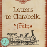 Emergent Writers Send Letters to Family (Train Theme):  Le