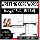 Emergent Writing Bundle