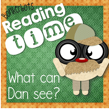Emergent reader: AN word family