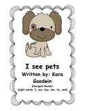 Emergent reader (Pets)
