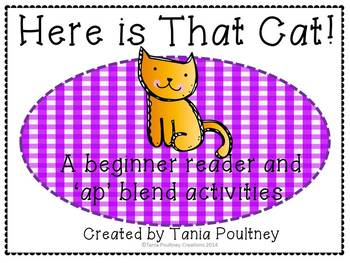 Emergent reader and ap blend- Here is That Cat!