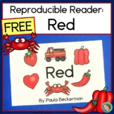 Emergent reader, red