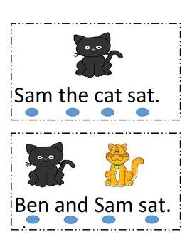 Emergent reader, sight words, simple words, kindergarten
