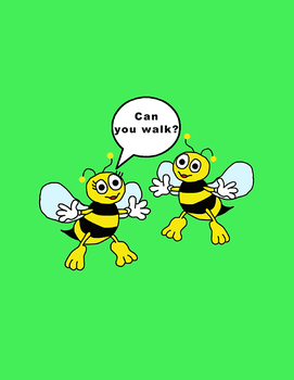 Emergent readers lesson - What Can Bees Do?