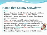 Emerging 13 Colonies Showdown Game