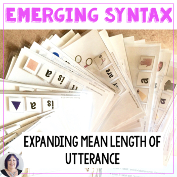 Emerging Grammar a Practice Set for Speech Therapy from Wo