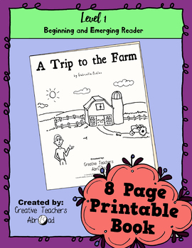 Emerging Reader Book Series: A Trip to the Farm