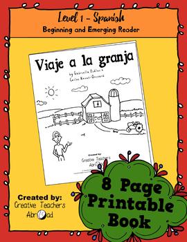 Emerging Reader Book Series: A Trip to the Farm (Viaje a la granja) - Spanish
