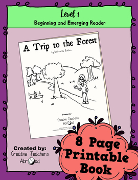 Emerging Reader Book Series: A Trip to the Forest
