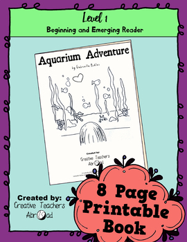 Emerging Reader Book Series: Aquarium Adventure