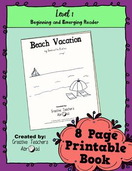 Emerging Reader Book Series: Beach Vacation