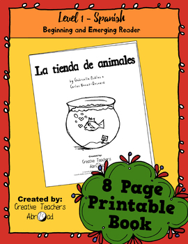 Emerging Reader Book Series: Pet Shop (La tienda de animales) - Spanish